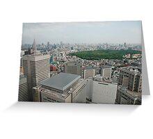 Tokyo Panarama  Greeting Card