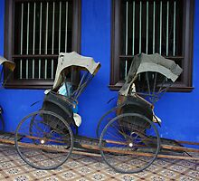 Rickshaws by openyourap