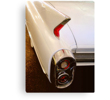 1960 Caddy Fins Canvas Print