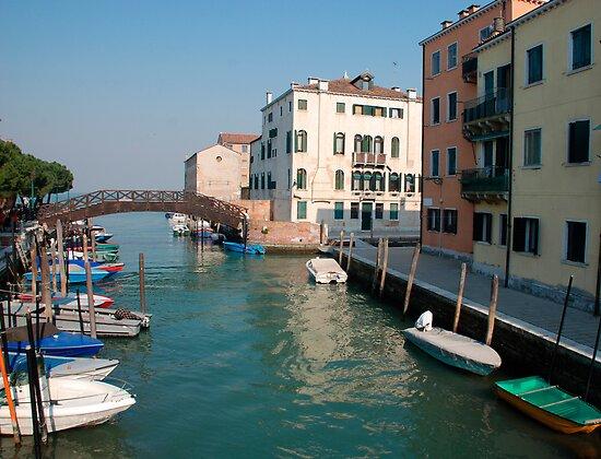 Backstreet, Venice, Italy  by jojobob