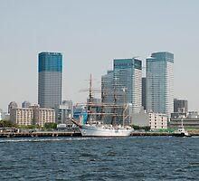 Tokyo Waterfront  by jojobob