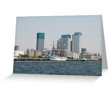 Tokyo Waterfront  Greeting Card