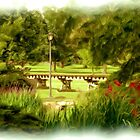 Gage Park Railway painting by Jim  Darnall