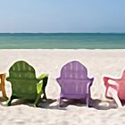 Rainbow Chairs by debrosi