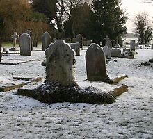 Frozen Churchyard by Dave Godden