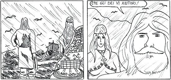 "VIKINGS ""rain"" by CLAUDIO COSTA"