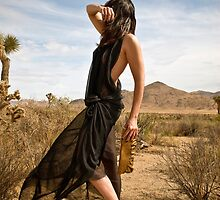Beth at Joshua Tree 1 by Rick Gould