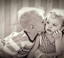 Indifferent Kiss by Mark Weaver