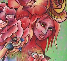 """Flower Burden"" by Chantelle Petith"