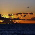 sunset at Ko'Olina by Naomi Hayes