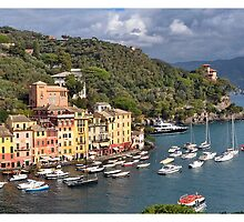 Portofino Panorama by Jorge's Photography