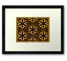 Seasons's Greetings - Happy Holidays Framed Print