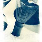 Cyanotype - chinese Shaving Brush by DavidAmosPhotography