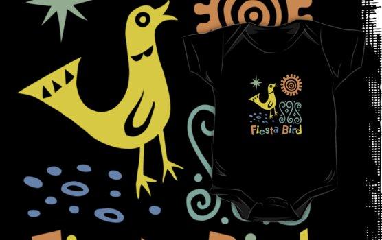 fiesta bird - dark by Andi Bird