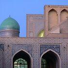 August: Madrasahs in Bukhara, Uzbekistan by cyclenavigator