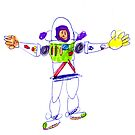 Buzz Lightyear by Minerva -Athina
