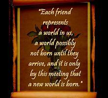 Each Friend... by Gail Bridger