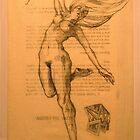 suspended figure by Forrest Harrison Gerke