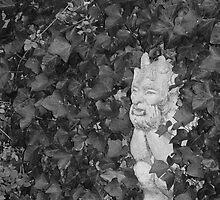 Dad's Garden Gargoyle by Jessica Manelis