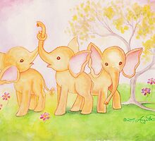 Friends Are Wonderful...Elephants Know! by AngelArtiste