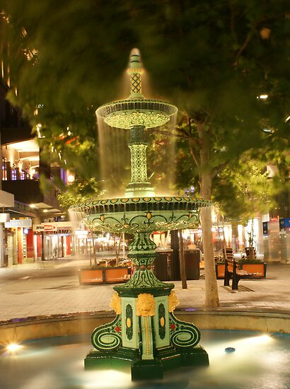 Fountain in Rundle Mall by Denny0976