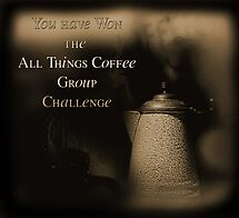 All Things Coffee Group Challenge Banner by Carmen Holly
