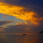 South Pacific Sunrise by Anna  Ellis