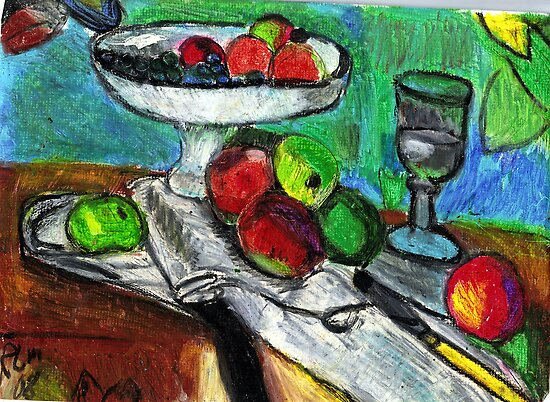 Still Life(After Matisse) by RobynLee