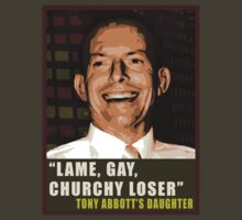 Lame, Gay, Churchy Loser by realism