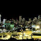 Seattle Night Shots #2 ~ Seattle, Washington  by lanebrain photography