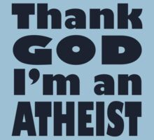 Atheist Dark Print by YellowGecko