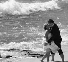 Beach wedding frivolities by Christine Oakley