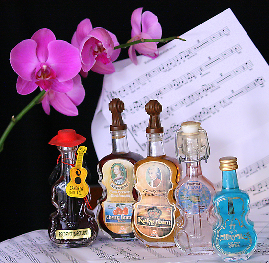 MUSICAL BOTTLES by Segalili