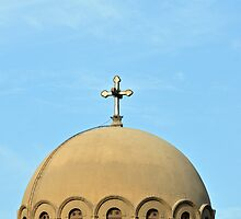 Dome of Church of St George, Coptic Cairo, Egypt  by Petr Svarc