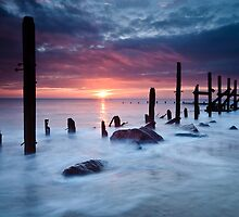 Happisburgh Dawn by Rick Bowden