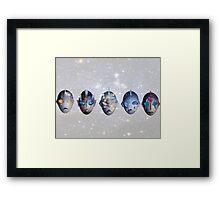 ultra siblings Framed Print