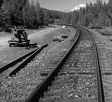 Railway line by zumi