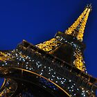 Eiffel Alight by Amy Hale