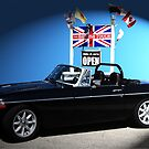 1980 MGB with Rover 3.5L V8 by jules572