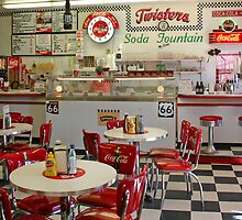 Twisters Soda Fountain by Patricia Montgomery