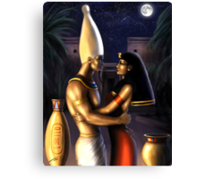 Osiris and Isis Canvas Print