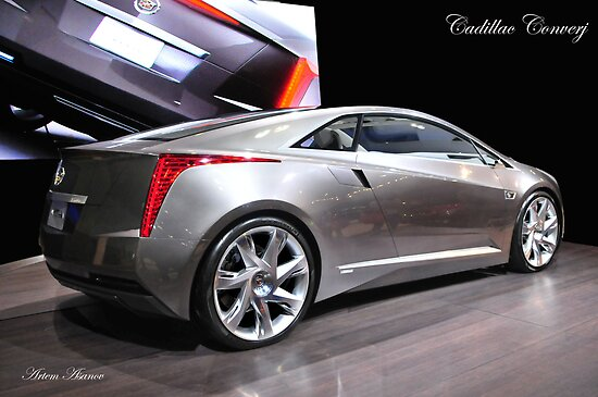 Cadillac Converj  2014 year Production (rear) by art1975
