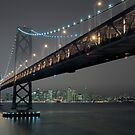 The Bay Bridge and SF (Revisited) by MattGranz