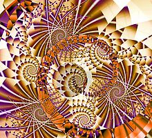 Abstract with spirals by CanDuCreations