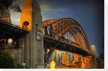 Golden Gateway - Sydney, Australia by Mark Richards