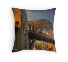 Golden Gateway - Sydney, Australia Throw Pillow