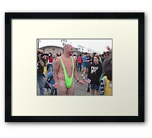 Borat Framed Print