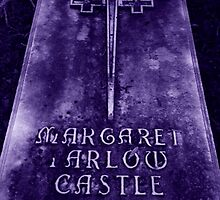 Purple Multicross Gravestone by SylviaS