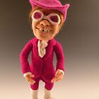 Li'l Elton - Needle Felted Art Doll by feltalive