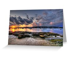 Walk On The Wildside - Paradise Beach , Sydney - The HDR Experience Greeting Card